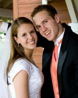 LDS Groom, LDS Bride, LDS wedding receptions