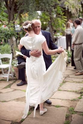 LDS bride, Daddy+Daughter Dance, LDS wedding reception