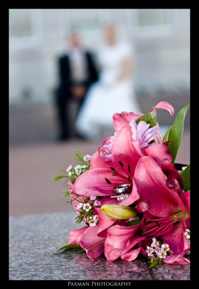 LDS wedding flowers