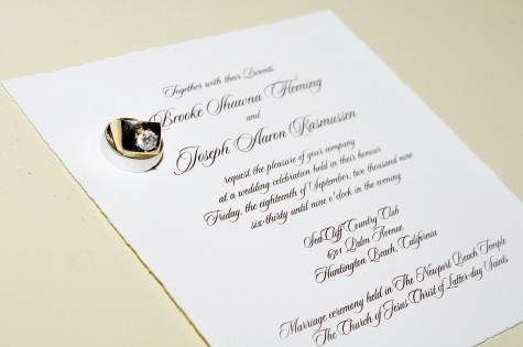 Lds Wedding Invitations