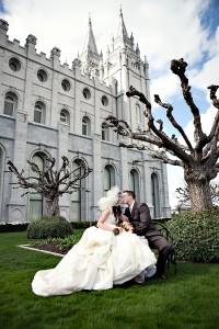 LDS Salt Lake City, Utah Temple, LDS weddings, LDS bride, LDS groom
