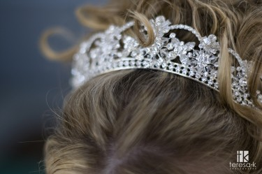 Hair Jewelry for LDS brides