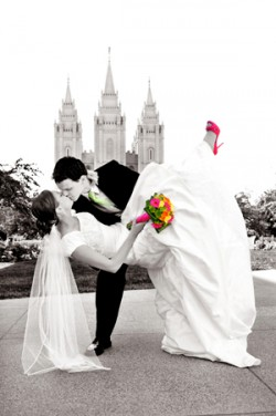 Lds salt lake city temple lds wedding lds groom lds for Salt lake city wedding dresses