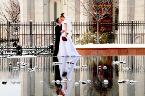 LDS Salt Lake City Temple, LDS weddings, LDS bride, LDS groom