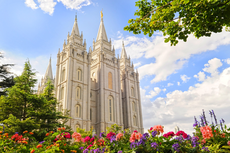 Mormon Temple Square Salt Lake City