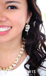 Jewelry for LDS brides, earrings