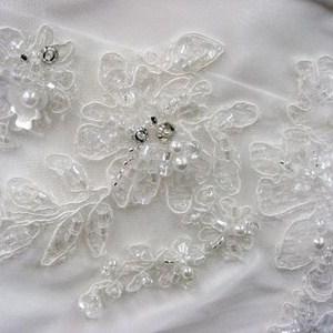Types of Wedding Dress Embellishments | LDS Wedding Planner