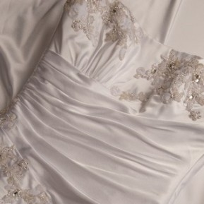 Types Of Wedding Dress Embellishments LDS Wedding Planner