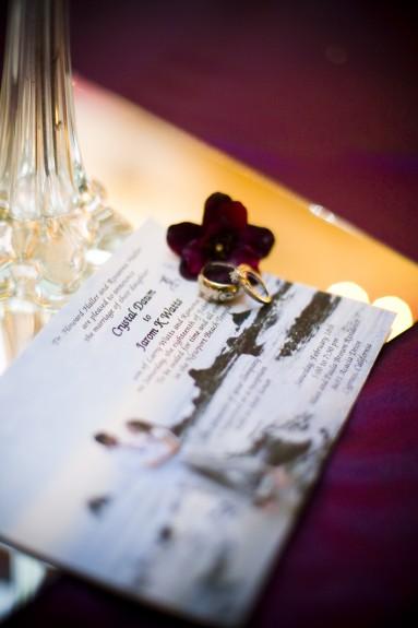 LDS wedding invitations Photo Courtesy of Amelia Lyon Photography
