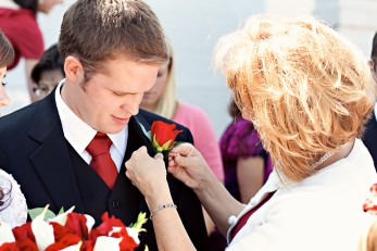 Mother of an LDS groom