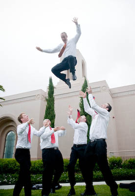 LDS Groomsmen, photo by JarvieDigital.com, WeddingLDS.com