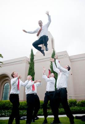 LDS Groomsmen, photo by JarvieDigital.com, WeddingLDS.com