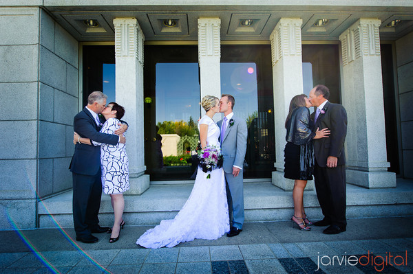 parents of an LDS bride and groom