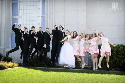 LDS groomsmen tuxes, photo by Teresa K. photography, weddingLDS.com
