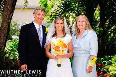 parents of the LDS bride