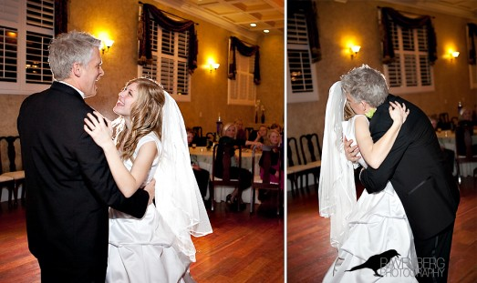 Father of an LDS bride; father-daughter dance