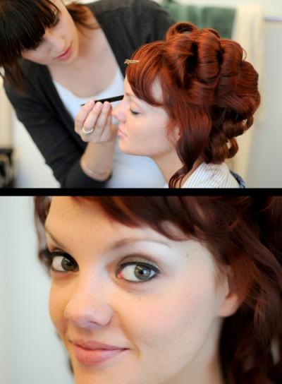 LDS bridal makeup for LDS brides