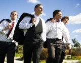 LDS Weddings, LDS groomsmen