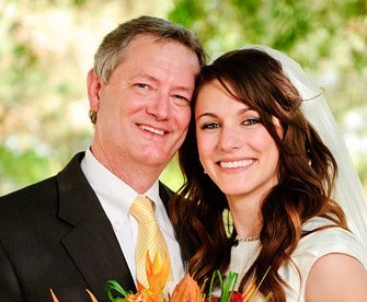 LDS Weddings, LDS father of the bride
