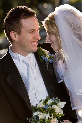 LDS bridal veils