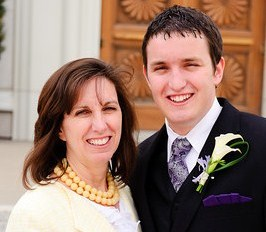 LDS weddings, LDS mother of the groom