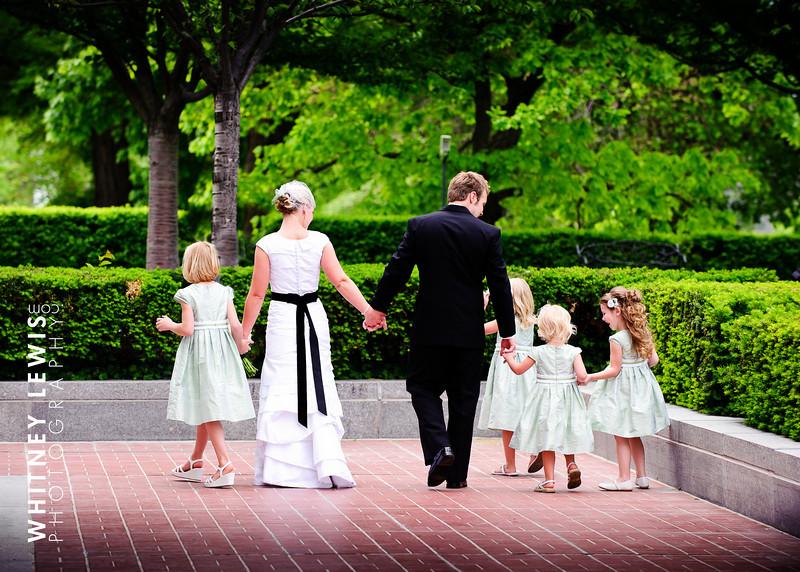 Tiny LDS Bridesmaids