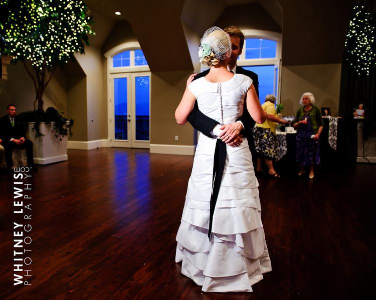 LDS Bride, LDS Groom, first dance