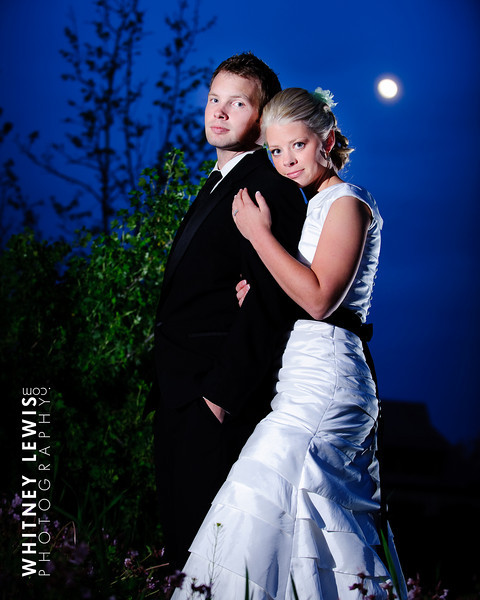 LDS bride and groom, Abbey and Taylor