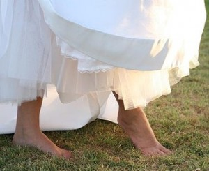 wedding shoes for LDS brides