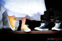Wedding Sneakers for LDS brides and grooms