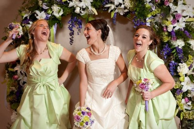 Maid of Honor and Bridesmaids