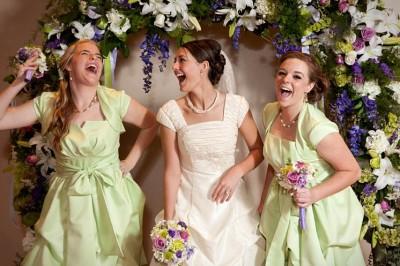 Maid of Honor and Bridesmaids