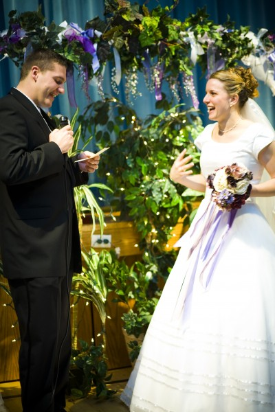 Planning an LDS wedding toast or speech