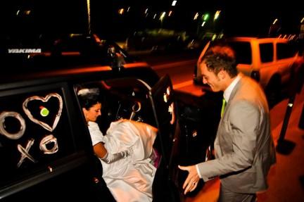 LDS wedding transportation