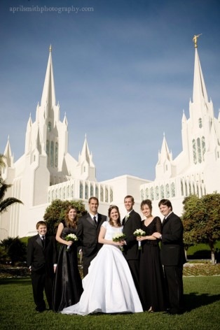LDS Temple Weddings questions and answers