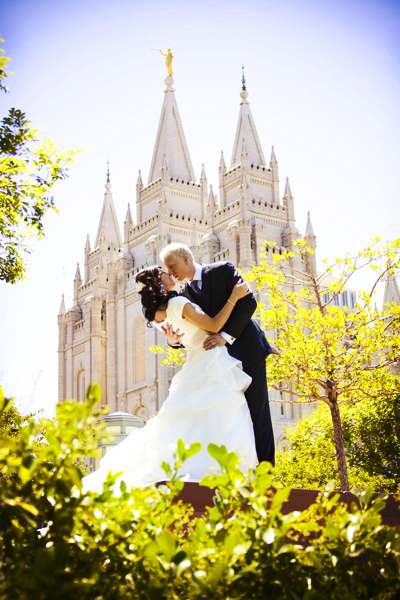 LDS Temple, LDS bride, LDS groom
