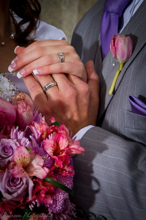 LDS wedding rings