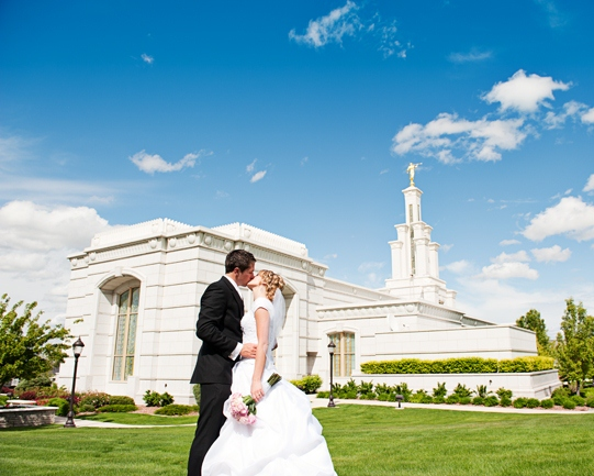 LDS Temple Weddings, LDS bride, LDS groom