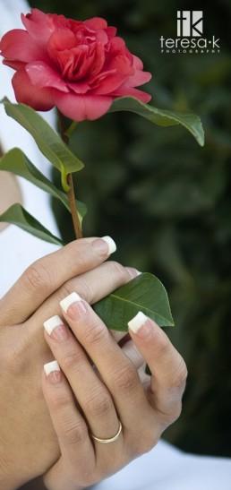 bridesmaids nails, photo by Teresa K. photography, weddinglds.com