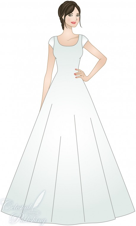A-LINE or PRINCESS SILHOUETTE – LDS Wedding Planner