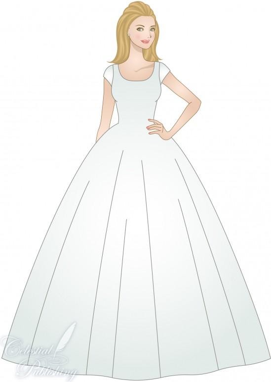 Ball Gown Lds Wedding Planner