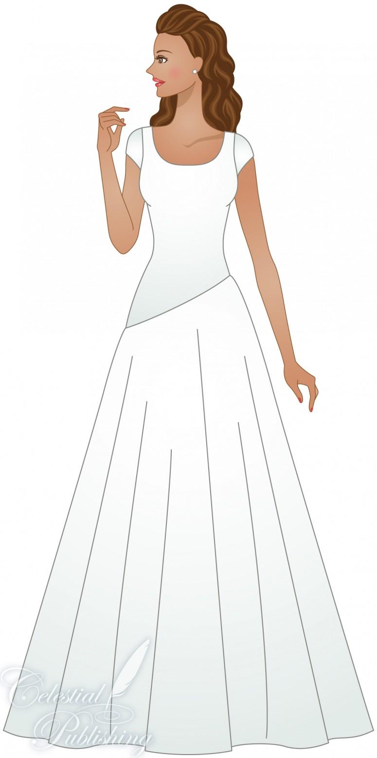 Asymmetrical waistline lds wedding planner for Renting vs buying wedding dress