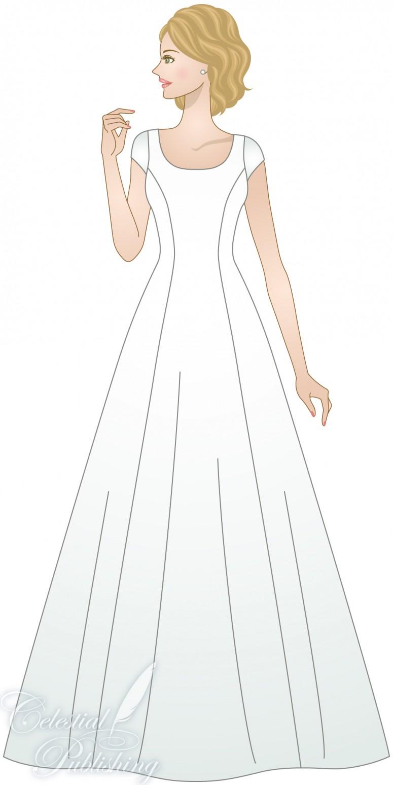 Princess Seam – LDS Wedding Planner