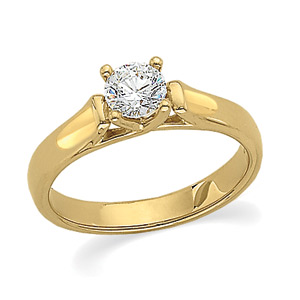 yellow gold - Types Of Wedding Rings