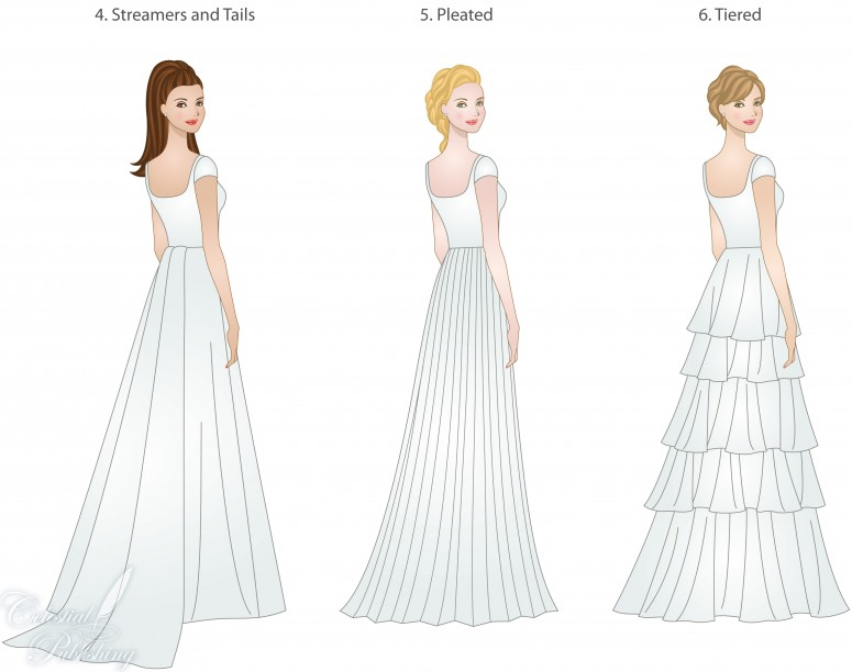 Wedding Dress Skirt Styles