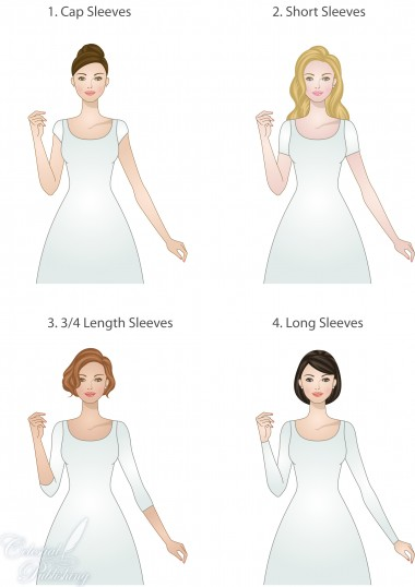 Modest Wedding Dresses: Sleeve Types and Lengths – LDS ...