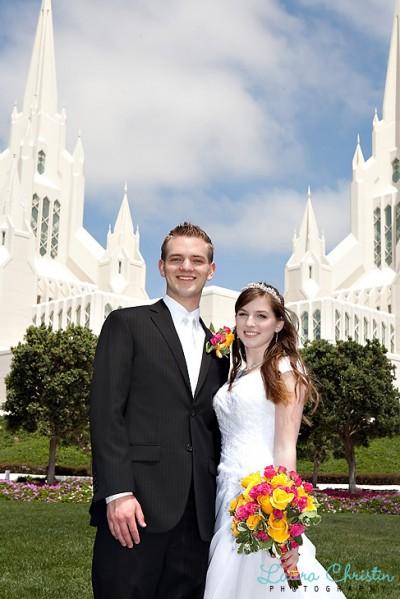 Lds Wedding Dresses San Diego : Brittney and matthew lds wedding weddinglds temple sealings