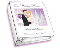 a customizable planner for LDS brides and grooms