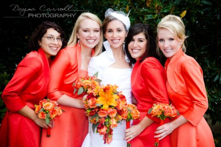 LDS Bridal Party, LDS Weddings