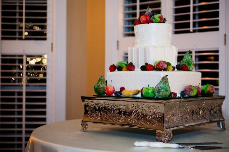 Featured Rea LDS Wedding Cake